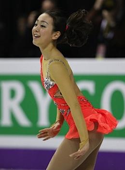 世界フィギュア2013 女子SPで6位と出遅れた浅田真央.jpg